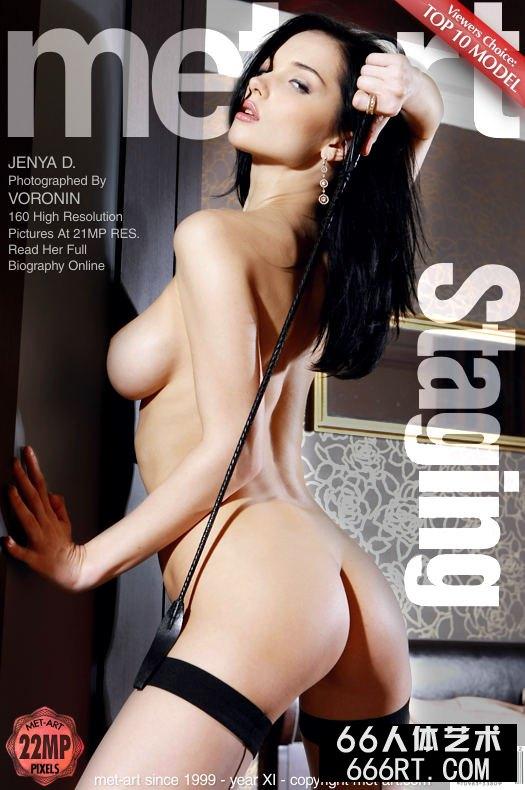 美得让人心颤的名模Jenya薄丝人体-1