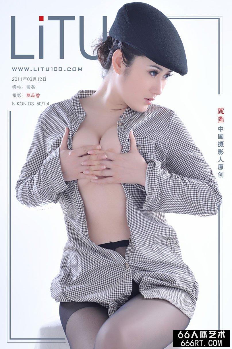 新超模雪茶11月3月12日棚拍丝袜人体
